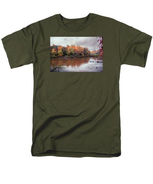 Afternoon Rain Men's T-Shirt  (Regular Fit) by John Rivera