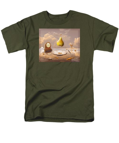 Men's T-Shirt  (Regular Fit) featuring the drawing Afternoon Tea by Alexa Szlavics