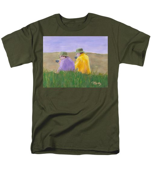 Afternoon Tea Men's T-Shirt  (Regular Fit) by Patricia Cleasby