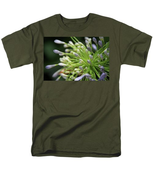 Men's T-Shirt  (Regular Fit) featuring the photograph Agapanthus, The Spider Flower by Yoel Koskas
