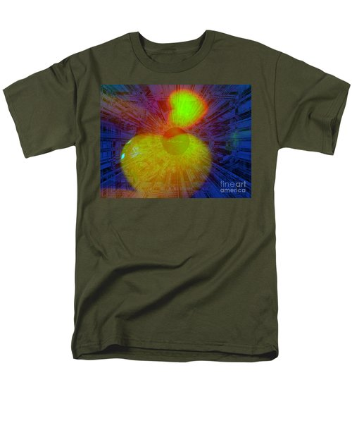 Men's T-Shirt  (Regular Fit) featuring the mixed media Agape by Fania Simon