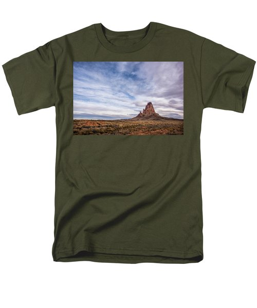 Men's T-Shirt  (Regular Fit) featuring the photograph Agathla Wakes Up by Jon Glaser