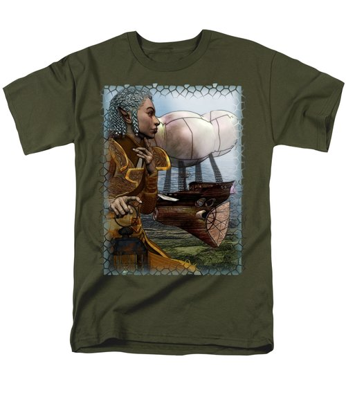 Airship Men's T-Shirt  (Regular Fit) by Sharon and Renee Lozen