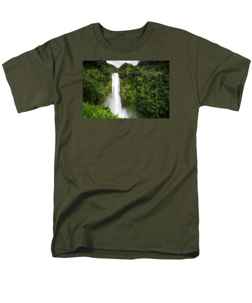 Akaka Falls Men's T-Shirt  (Regular Fit) by Ryan Manuel