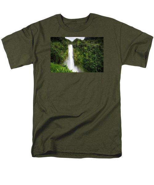 Men's T-Shirt  (Regular Fit) featuring the photograph Akaka Falls by Ryan Manuel