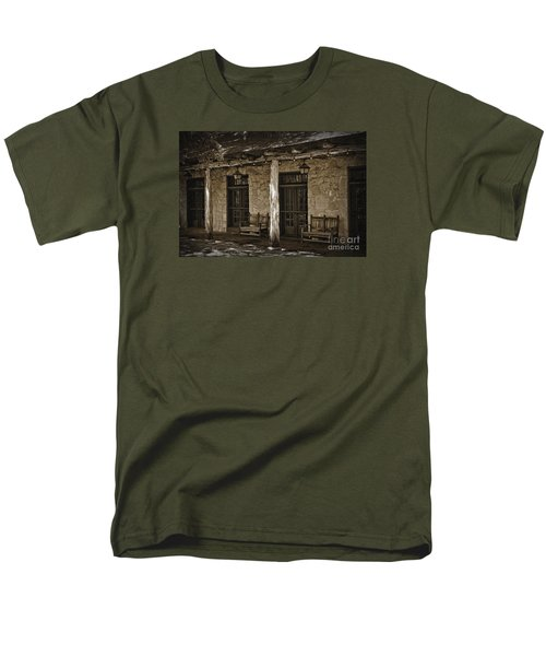Men's T-Shirt  (Regular Fit) featuring the photograph Alamo Adobe by Kirt Tisdale