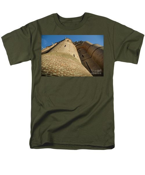 Albi Cathedral Low Angle Men's T-Shirt  (Regular Fit) by RicardMN Photography