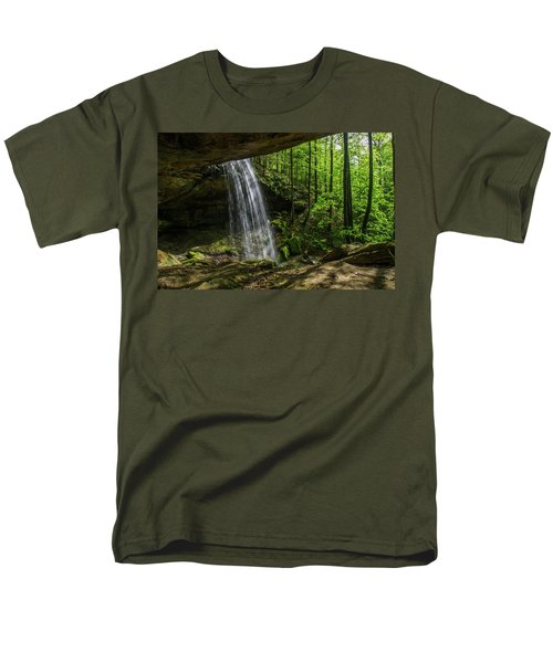 Alcorn Falls Men's T-Shirt  (Regular Fit) by Ulrich Burkhalter
