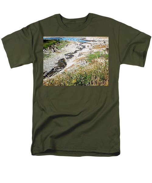 Alder Lake Stumps Men's T-Shirt  (Regular Fit) by Joseph Hendrix