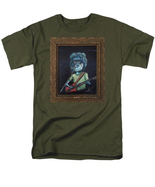 Alien Jerry Garcia Men's T-Shirt  (Regular Fit)