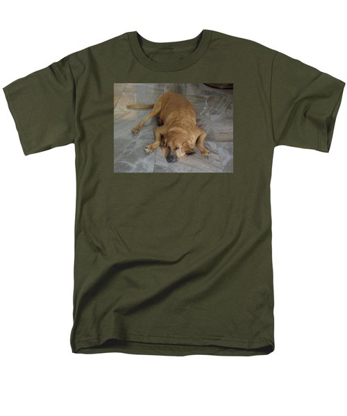 All Pooped Out Men's T-Shirt  (Regular Fit) by Val Oconnor