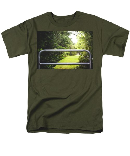 Men's T-Shirt  (Regular Fit) featuring the photograph All Things Green by Shelby Young