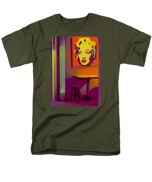 Men's T-Shirt  (Regular Fit) featuring the photograph Alone Again by Ranjini Kandasamy