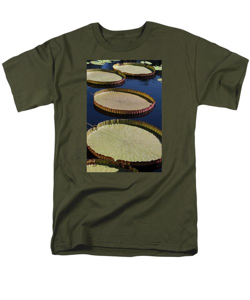 Men's T-Shirt  (Regular Fit) featuring the photograph Amazonas Lily Pads II by Suzanne Gaff