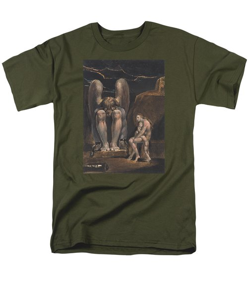 America. A Prophecy, Plate 1, Frontispiece Men's T-Shirt  (Regular Fit) by William Blake