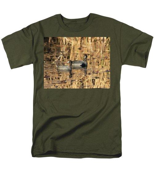 American Coots Men's T-Shirt  (Regular Fit) by Jerry Battle