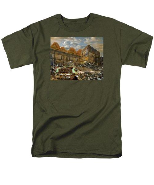 American Landscape Circa 2012 Men's T-Shirt  (Regular Fit) by Jeff Burgess