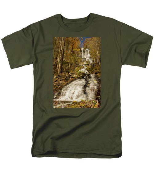 Amicola Falls Gushing Men's T-Shirt  (Regular Fit)