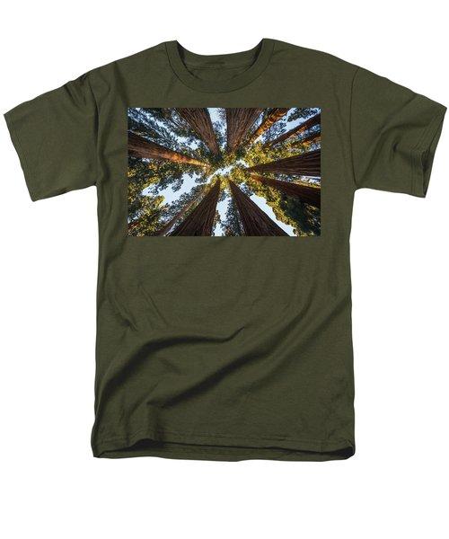Amongst The Giant Sequoias Men's T-Shirt  (Regular Fit) by Alpha Wanderlust