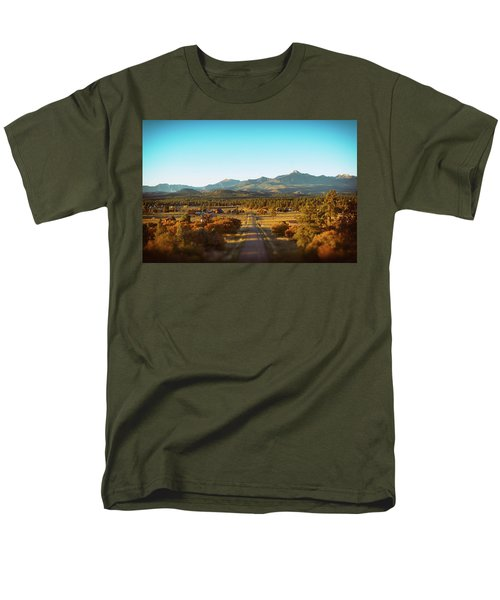 An Autumn Evening In Pagosa Meadows Men's T-Shirt  (Regular Fit) by Jason Coward
