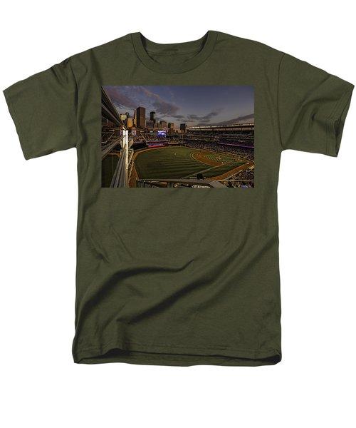 An Evening At Target Field Men's T-Shirt  (Regular Fit) by Tom Gort