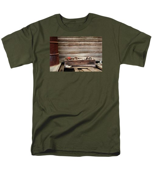 An Old Wooden Toolbox Men's T-Shirt  (Regular Fit) by Lynn Jordan