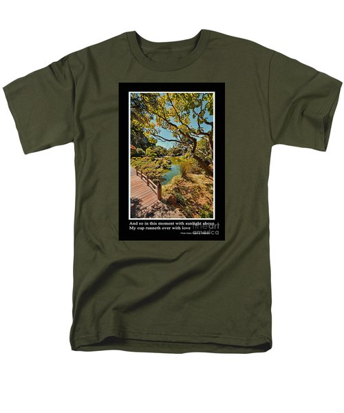 And So In This Moment With Sunlight Above Men's T-Shirt  (Regular Fit) by Jim Fitzpatrick