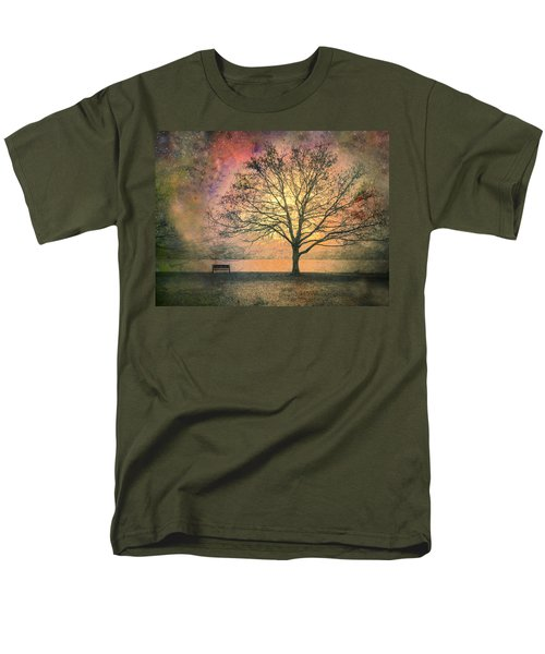 And The Morning Is Perfect In All Her Measured Wrinkles Men's T-Shirt  (Regular Fit) by Tara Turner