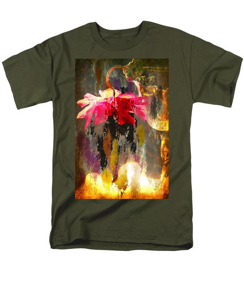 Anemone Monday Men's T-Shirt  (Regular Fit) by Jolanta Anna Karolska