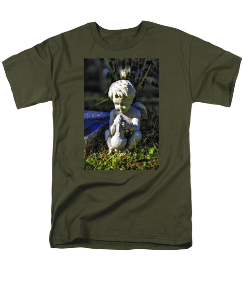 Angel 001 In Hdr Men's T-Shirt  (Regular Fit) by Michael White