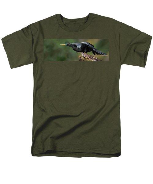 Anhinga Anhinga Anhinga, Costa Rica Men's T-Shirt  (Regular Fit) by Panoramic Images