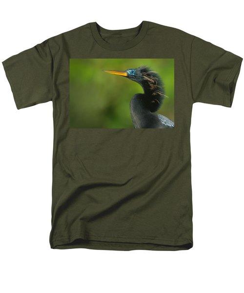 Anhinga Anhinga Anhinga, Tortuguero Men's T-Shirt  (Regular Fit) by Panoramic Images