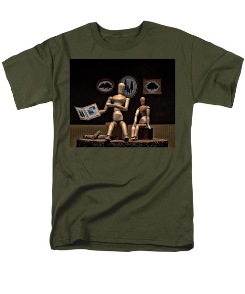 Another Recounting Of The Woody Family History Men's T-Shirt  (Regular Fit) by Mark Fuller