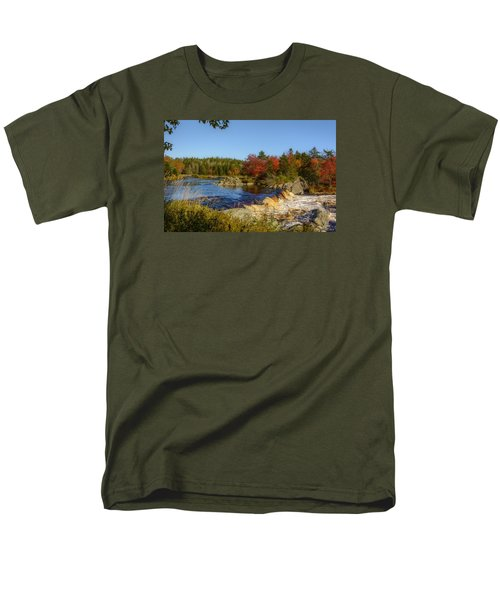 Another View Of Liscombe Falls Men's T-Shirt  (Regular Fit) by Ken Morris