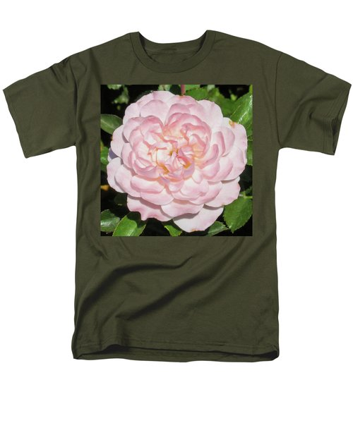 Antique Pink Rose Men's T-Shirt  (Regular Fit) by Mark Barclay