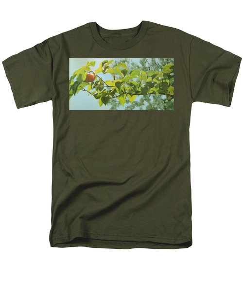 Men's T-Shirt  (Regular Fit) featuring the painting Apple A Day by Karen Ilari