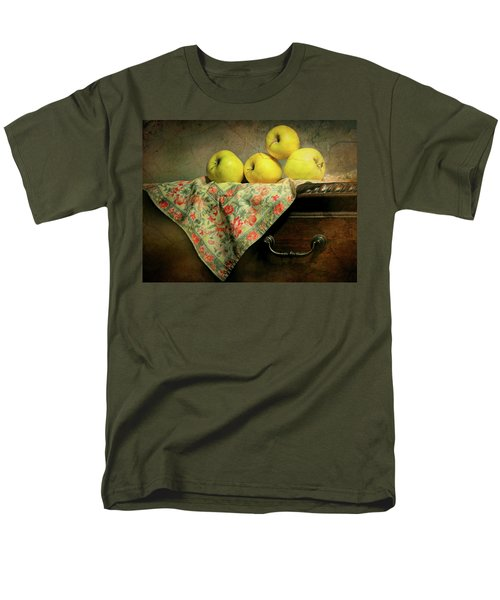 Men's T-Shirt  (Regular Fit) featuring the photograph Apple Cloth by Diana Angstadt