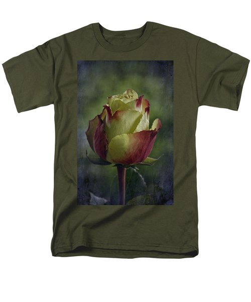April 2017 Rose - Inspired By Emerson Men's T-Shirt  (Regular Fit) by Richard Cummings