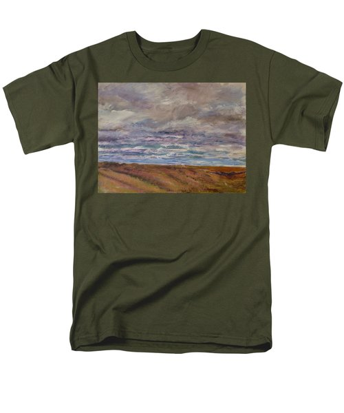 April Wind Men's T-Shirt  (Regular Fit) by Helen Campbell