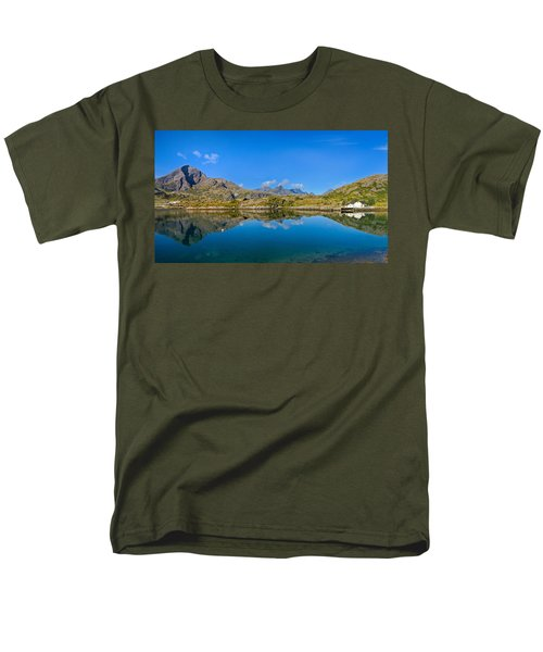 Men's T-Shirt  (Regular Fit) featuring the photograph Arctic Reflections by Maciej Markiewicz