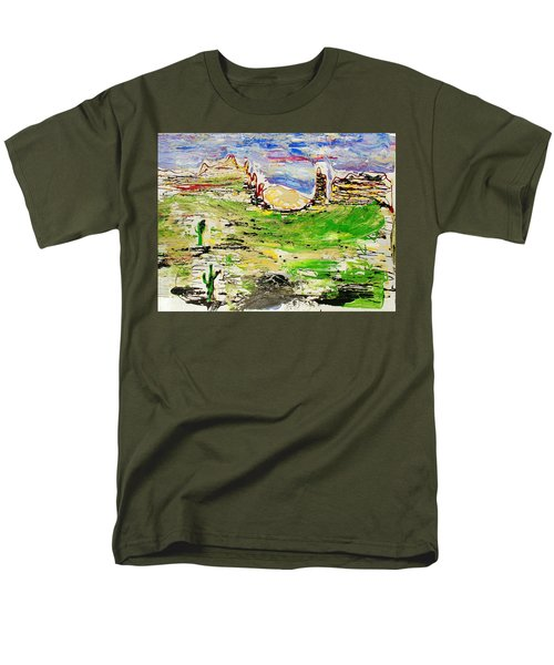 Arizona Skies Men's T-Shirt  (Regular Fit) by J R Seymour