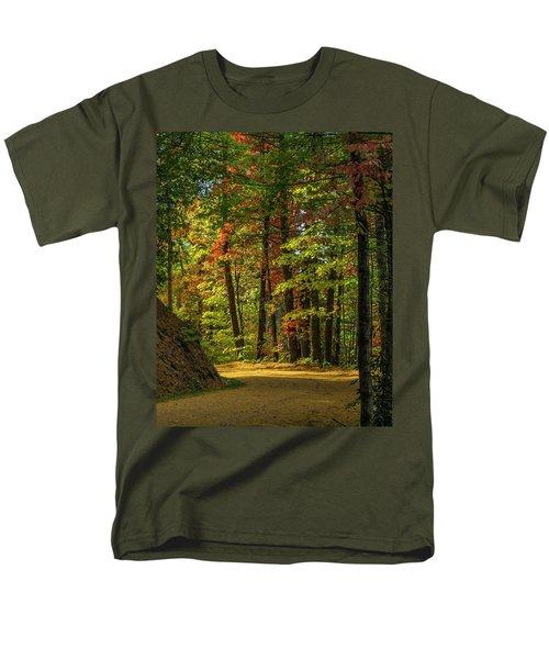 Around The Curve Men's T-Shirt  (Regular Fit)