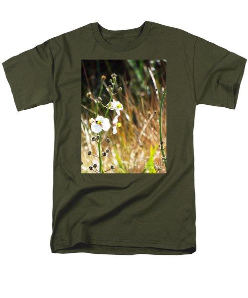 Arrowhead Blooms Men's T-Shirt  (Regular Fit) by Audrey Van Tassell