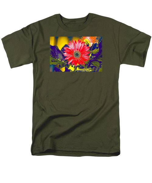 Artistic Bloom - Pla227 Men's T-Shirt  (Regular Fit) by G L Sarti