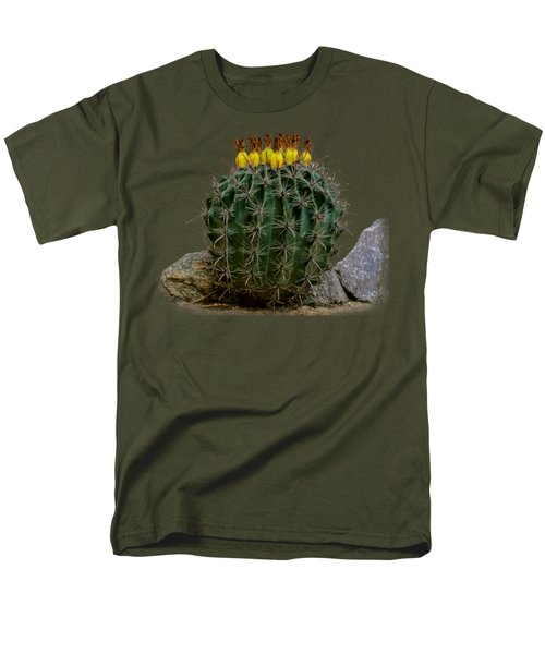 Barrel Against Wall No50 Men's T-Shirt  (Regular Fit) by Mark Myhaver