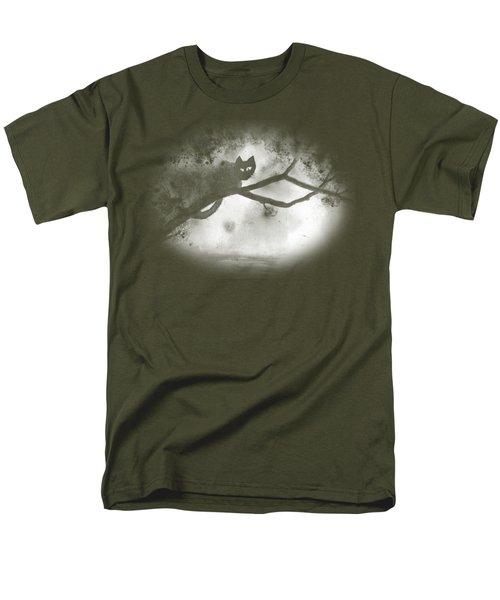 Chat Dans L'arbre Men's T-Shirt  (Regular Fit) by Marc Philippe Joly