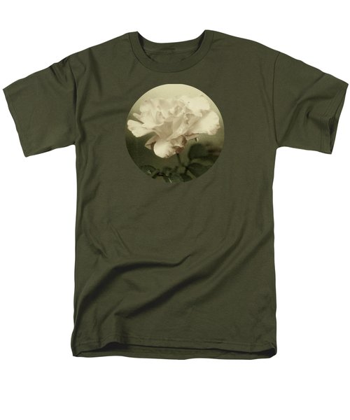 Faded Rose Men's T-Shirt  (Regular Fit) by Mary Wolf