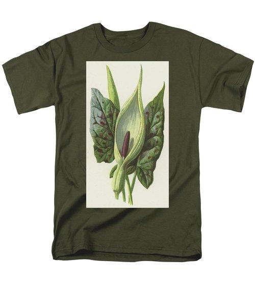 Arum, Cuckoo Pint Men's T-Shirt  (Regular Fit) by Frederick Edward Hulme