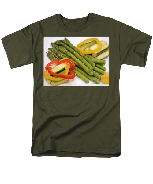 Asparagus Men's T-Shirt  (Regular Fit) by Loriannah Hespe