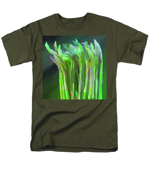 Asparagus Study 01 Men's T-Shirt  (Regular Fit) by Wally Hampton